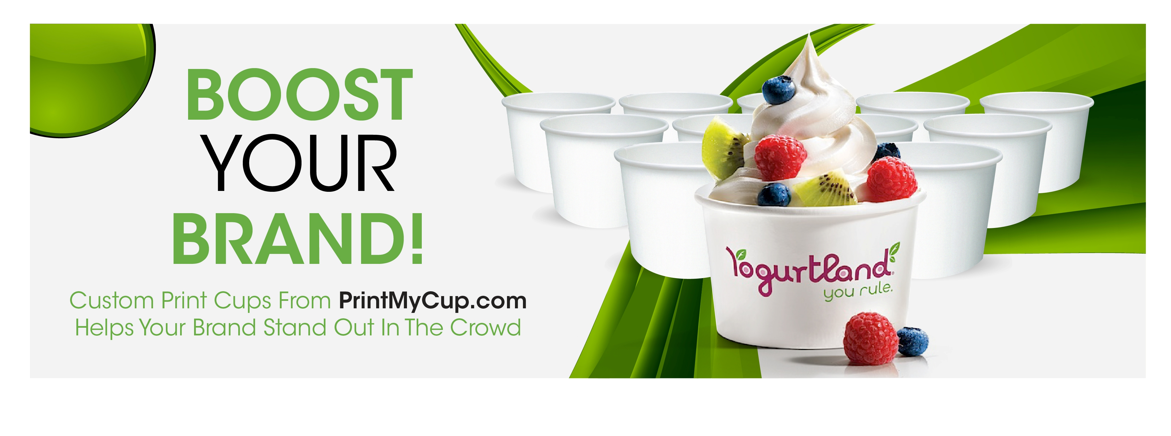 bOOST yOUR bRAND, custom printed cups printmycup.com #printmycup