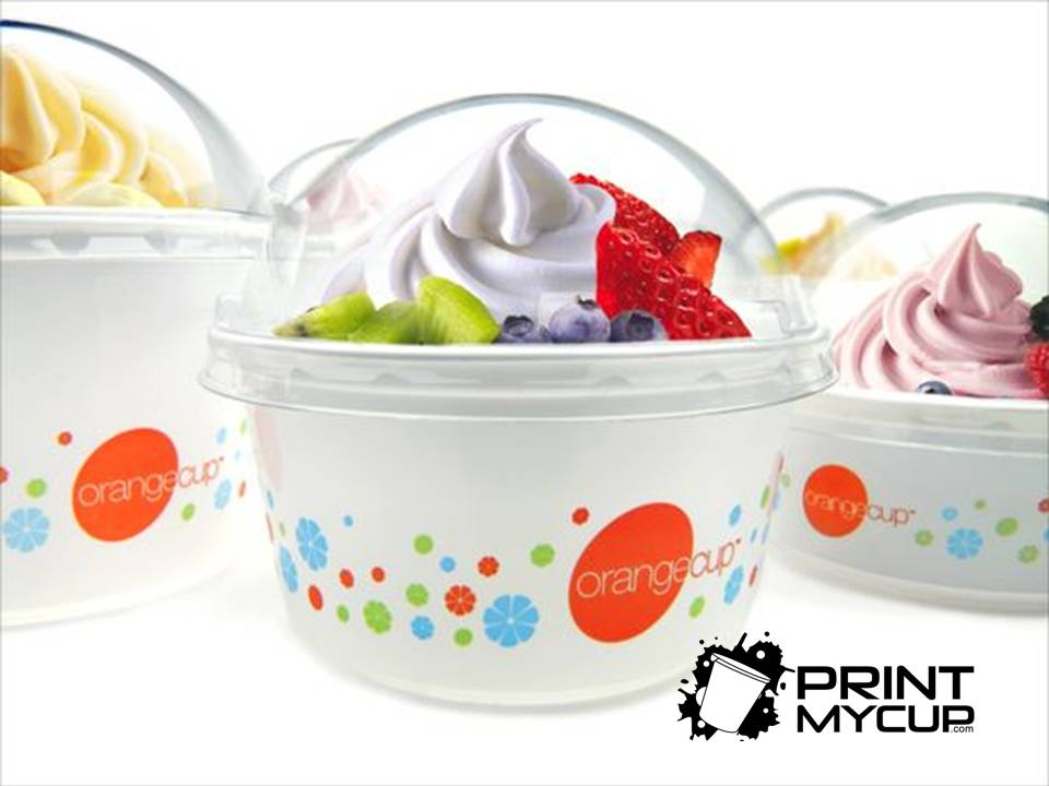 custom print ice cream cup, ice cream distributors, cups frozenyogurt, frozen yogurt www.printmycup.com