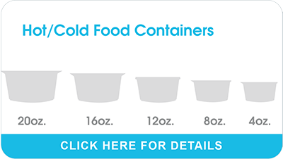 Hot/Cold Food Containers