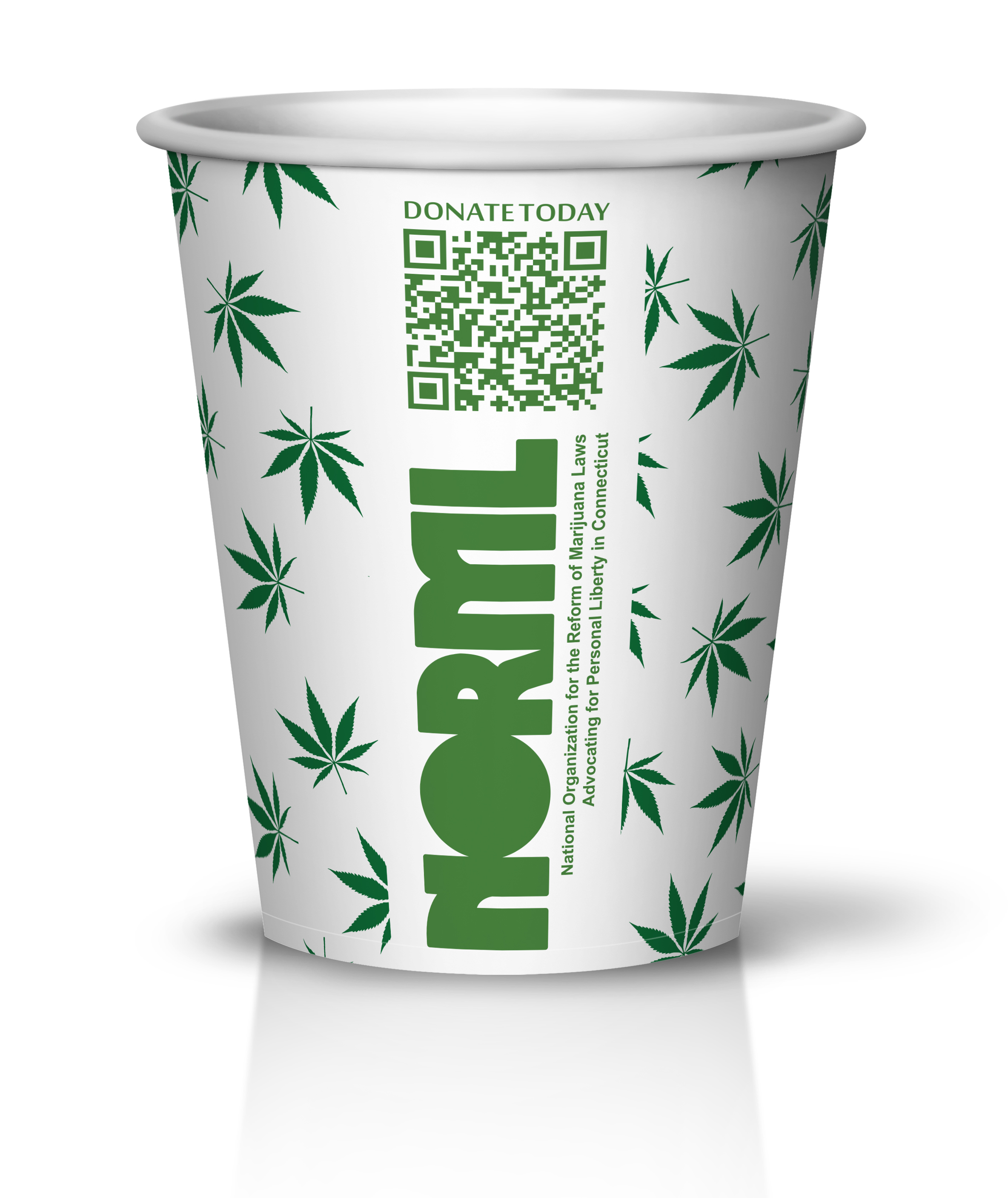 """NORML """"Legalize It"""" Custom print 10oz Hot Cup from PrintMyCup.com #printmycup"""