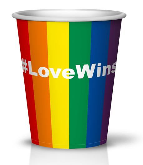 #lovewins custom print cup printmycup